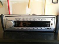 JVC Car in-dash MP3/CD Player + Radio (KD SH-99).  $75