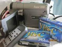 JVC Compact VHS Camcorder. Used, works just like it was