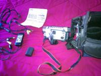 I am selling a JVC digital video camera GR-DVL720 with