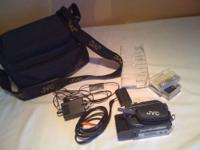 JVC GR-D71 Digital Video Camera w/bag Plus everything