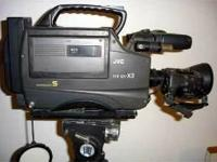 I have a JVC GY-X3 Professional S-VHS Studio Camcorder.