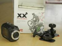 JVC GC-XA1 ADIXXION Action Camcorder. Excellent