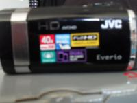 "JVC HD EVERIO CAMERA 2.7"" LCD TOUCH SCREEN 2 SD SLOTS"