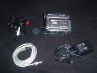 I have for sale a JVC Mini DV Camcorder. 34x Optical