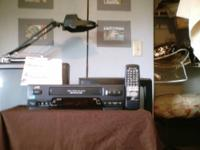 JVC VCR HiFi type. Remote & Manual. $40. One of last