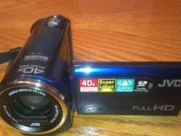 Camera is brand new and compact, fits in the palm of