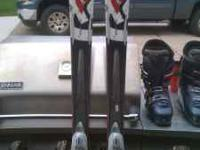 K-2 Apache Pro skis with Marker bindings, 167cm.