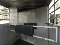 2005 K&K 2 horse slant stock trailer for sale.