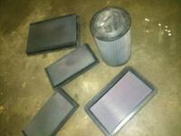 I HAVE THESE K&N PERFORMANCE AIR FILTERS FOR SALE ALL