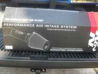 K&N Cold air intake for 5.4 Ford F150 only on truck for