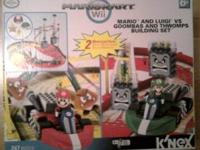 New in box! Never opened! Mariokart Wii Buidling Set by