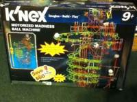 K'nex Motorized Madness Ball Machine. I am selling for
