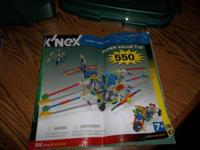 K'nex Super Worth Tub (Kit # 34119) and K'nex Light-Ups
