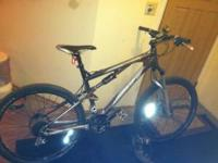 I HAVE A NICE K2 APACHE FULL SUSPENSION MOUNTAIN BIKE.