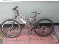 I am selling my K2 full suspention mtn bike,Its has 6in