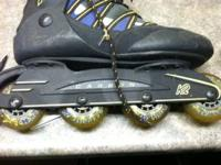 For sale is a pair of K2 Flight 76 roller blades. Size