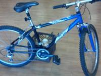 "READY TO RIDE K2 ZED2.0 BIKE 26"". It has minor signs of"