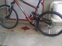 I'm selling my K2 sidewinder. Has 24sp Shimano Altus