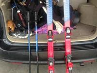 K2 Select 7.9 Skis with Salomon Series 600 bindings