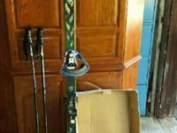 Selling my K2 55000 skis, Salomon Evolution 7.7 ski