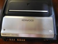 The Kenwood Amp comes with a Kenwood Sub, exellent