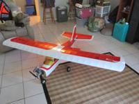 Kadet Senior Radio Control Plane- Ready to Fly. Gas