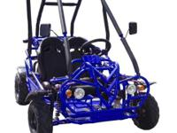 This youngster's double seat Kandi 110KT Go-Kart has