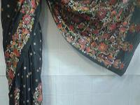 we design and manufacture kantha sarees and duppattas