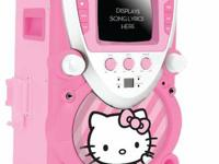 Hello Kitty 68109 CD Karaoke System with Screen,