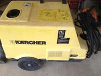 Karcher HDS 750 Power Pressure Washer Steam Cleaner