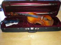 Full-sized Karl Hofner (German 1970) violin with