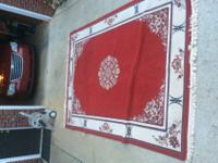 This is a Kashmir Oriental area rug sold at
