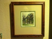 I am selling a small Robert Kasimir color etching of