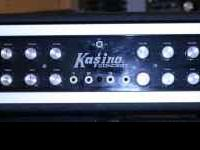 Kasino Concert amplifier with speakers in a perfect