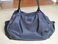 Authentic kate spade Stevie baby diaper bag in black