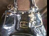 black kathy purse used for a very short period of time