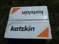 New in box, Leather Seat Covers. Manufacturer: Katzkin