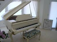 K Kawai Baby Grand Piano. It is gorgeous and in