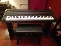 This electronic piano is in exceptional condition. It