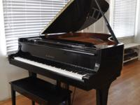 Kawai Baby Grand GE-2 Model TUNED!! Just tuned to A-440