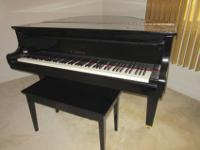 "Kawai GE Baby Grand Piano, 5'1"", Ser#2559229. Bidding"