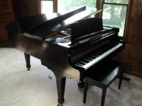 I am showing this K. Kawai grand piano for a good