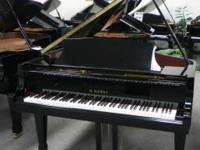 Reconditioned Kawai RX2 Grand Piano. Black polish