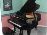"Kawai KG-2E 5'10"" Grand Piano w/bench. Excellent"