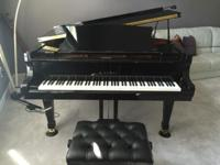 "Kawai Grand Piano RX5 2008-2009. 6'6"" This piano was"