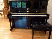 Type:PianosType:KawaiKawai upright piano (model K-5