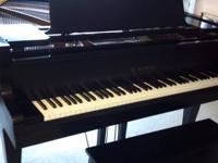 "Beautiful Kawai KG2 black satin 5'10"" Grand Piano,"