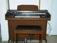 Kawai Organ KX 130 with bench..... good