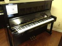 "This 49"" Kawai Studio Piano has been meticulously"
