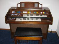 Kawai 260-A organ with Electro Chord Bass II. Purchased